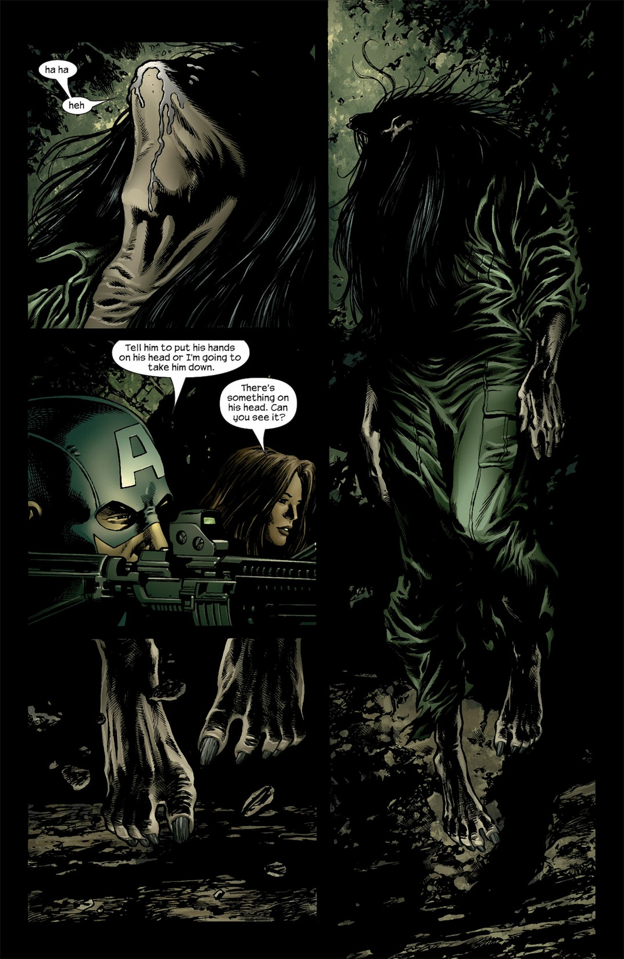 Read online Ultimate Nightmare comic -  Issue #3 - 9