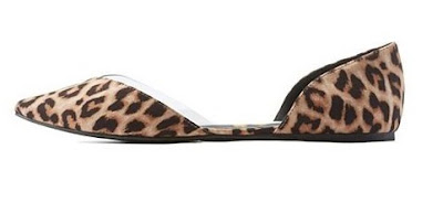 Cute and affordable shoes Qupid leopard print flats