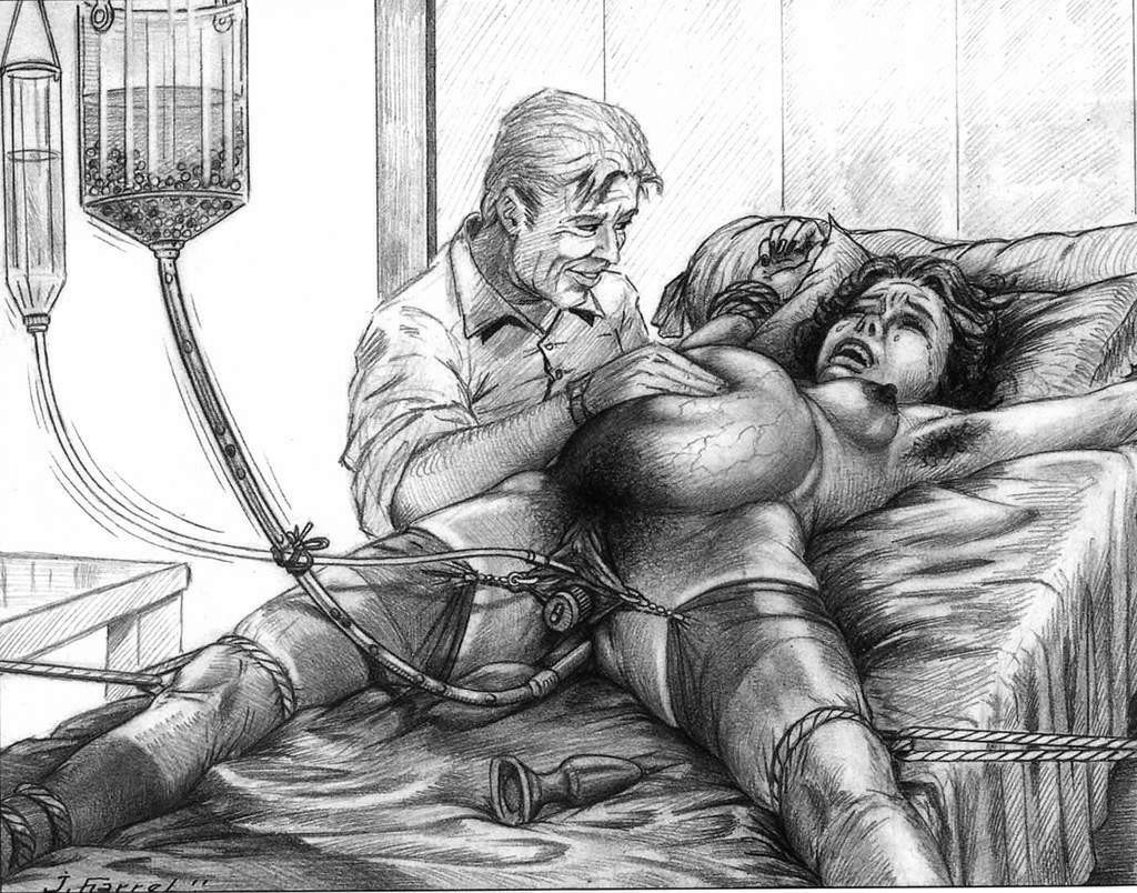 Sexy father bdsm torture sketches ebony nude
