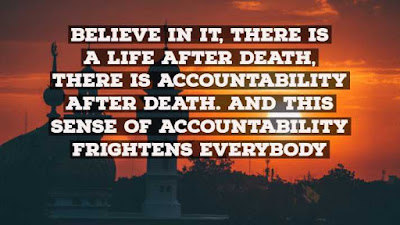 Islamic Quote about Death