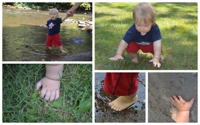 sensory walk play activity
