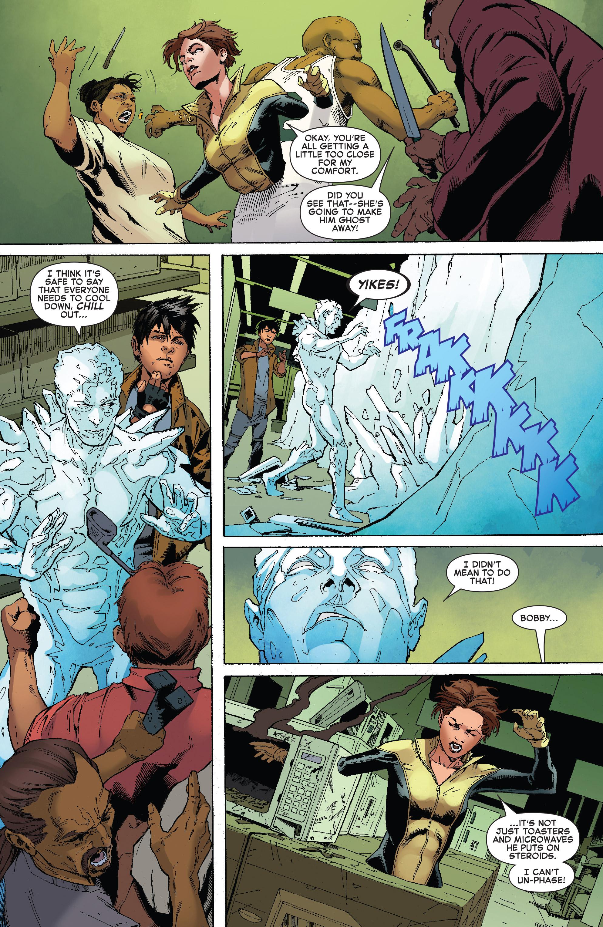 Read online Iceman (2017) comic -  Issue #2 - 11