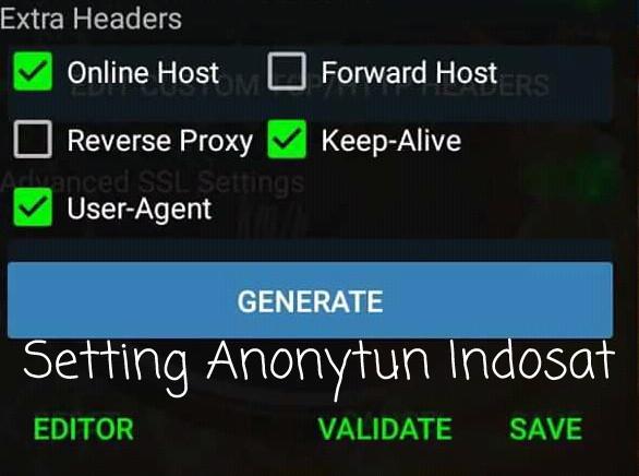 Cara Terbaru Setting AnonyTun Indosat Ooredoo OpOk 2019 Full Speed Terbaru