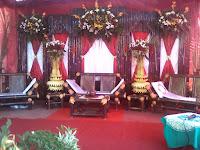 contoh dekorasi pernikahan klasik