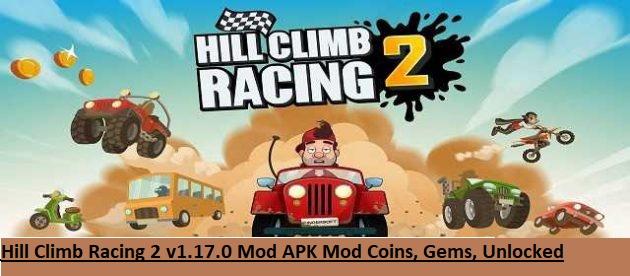 Hill Climb Racing 2 v1.17.0 Mod APK Mod Coins, Gems, Unlocked