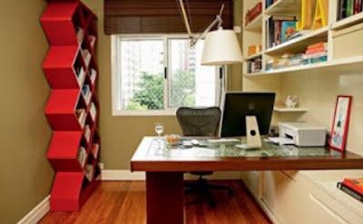 desain kantor ruang kerja dalam rumah