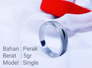 Cincin Perak Single | CK-01