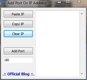 Cara Menambahkan Port Secara Otomatis Pada IP Address Tertentu