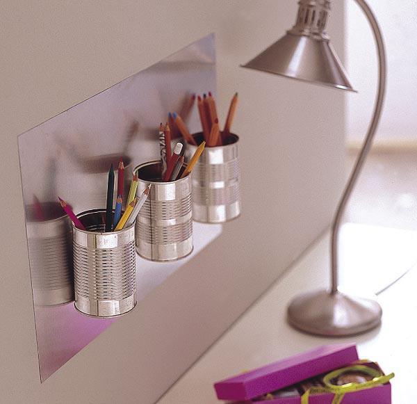 Ecomania blog ideas para reciclar tus latas de conservas for Articulos de decoracion para el hogar