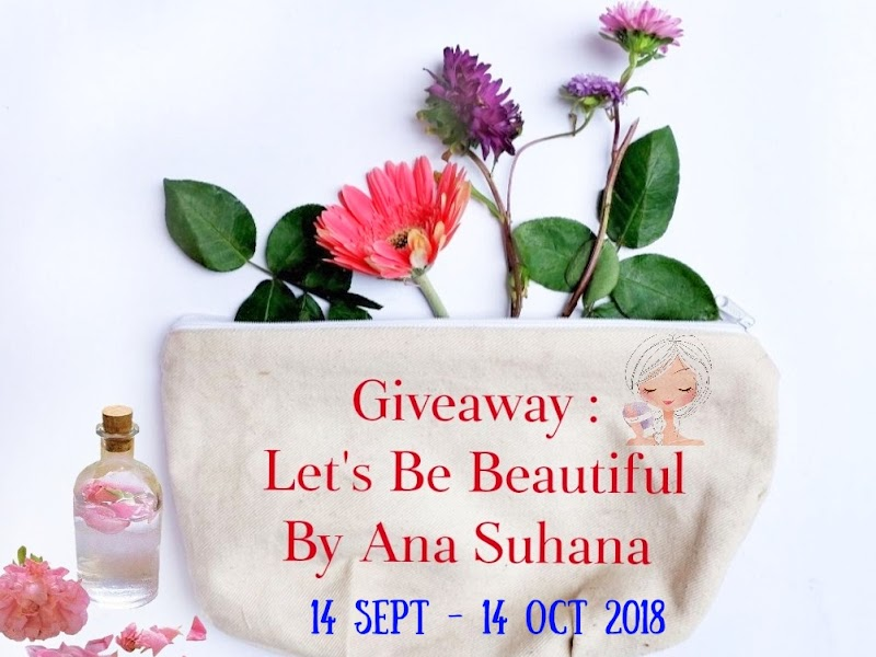 GIVEAWAY | Let's Be Beautiful by Ana Suhana