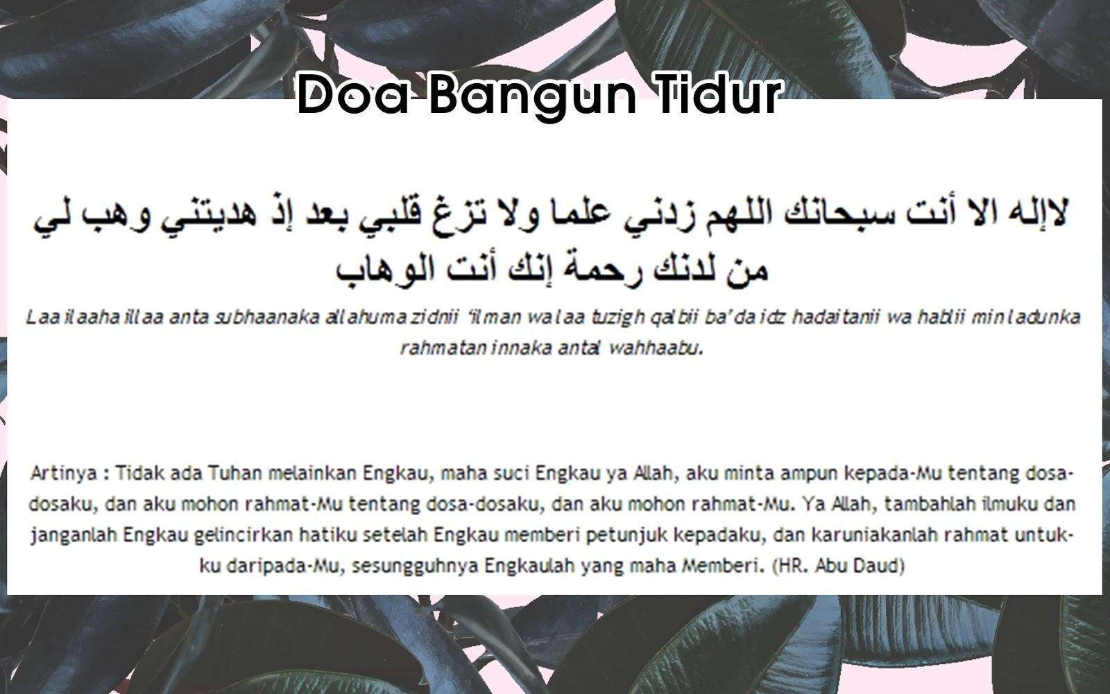 Doa Sehari-hari (Free Printables) - Creatifina