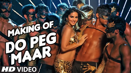 DO PEG MAAR Making Video One Night Stand Sunny Leone Neha Kakkar Tony Kakkar