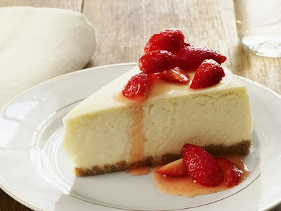 Resep Strawberry Cheese Cake Tanpa Oven