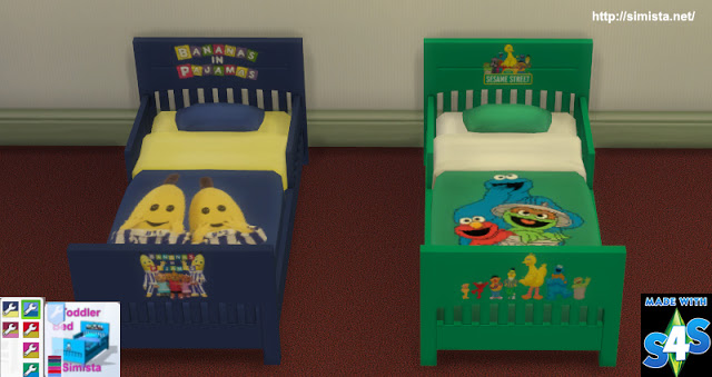 My Sims 4 Blog Toddler Beds By Simista