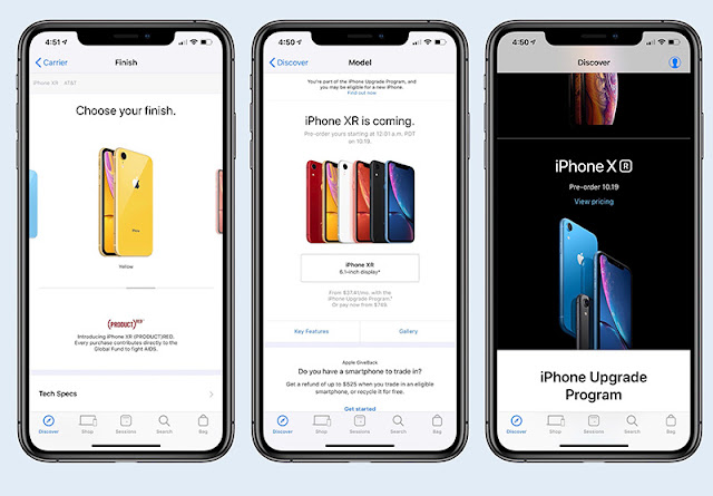Siri Shortcuts pre-ordering iPhone XR