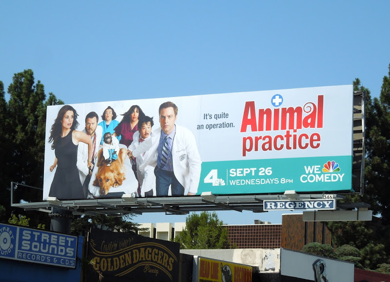 Animal Practice billboard