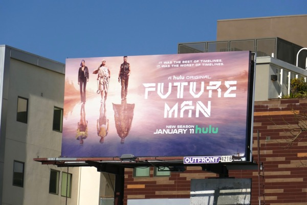 Future Man season 2 billboard