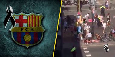 ¡ÚLTIMA HORA! - Videos de los atentados en Barcelona ¡La comunidad deportiva se une!