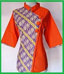 New 3 Model Batik Modern Untuk Wanita Modis Terbaru Pro Rahasia