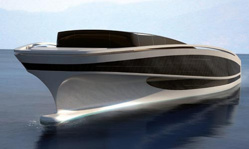 A Boats with a beautiful designs