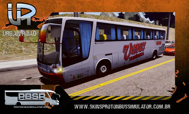 Skin Proton Bus Simulator Road - Vissta Buss LO O-500 RS Venus Turística