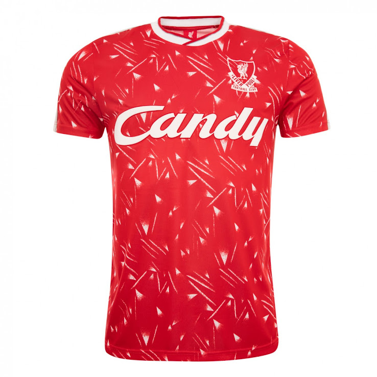 f432c0dbe4f Awesome Liverpool FC 2019 Retro Kit Collection Released - Footy ...