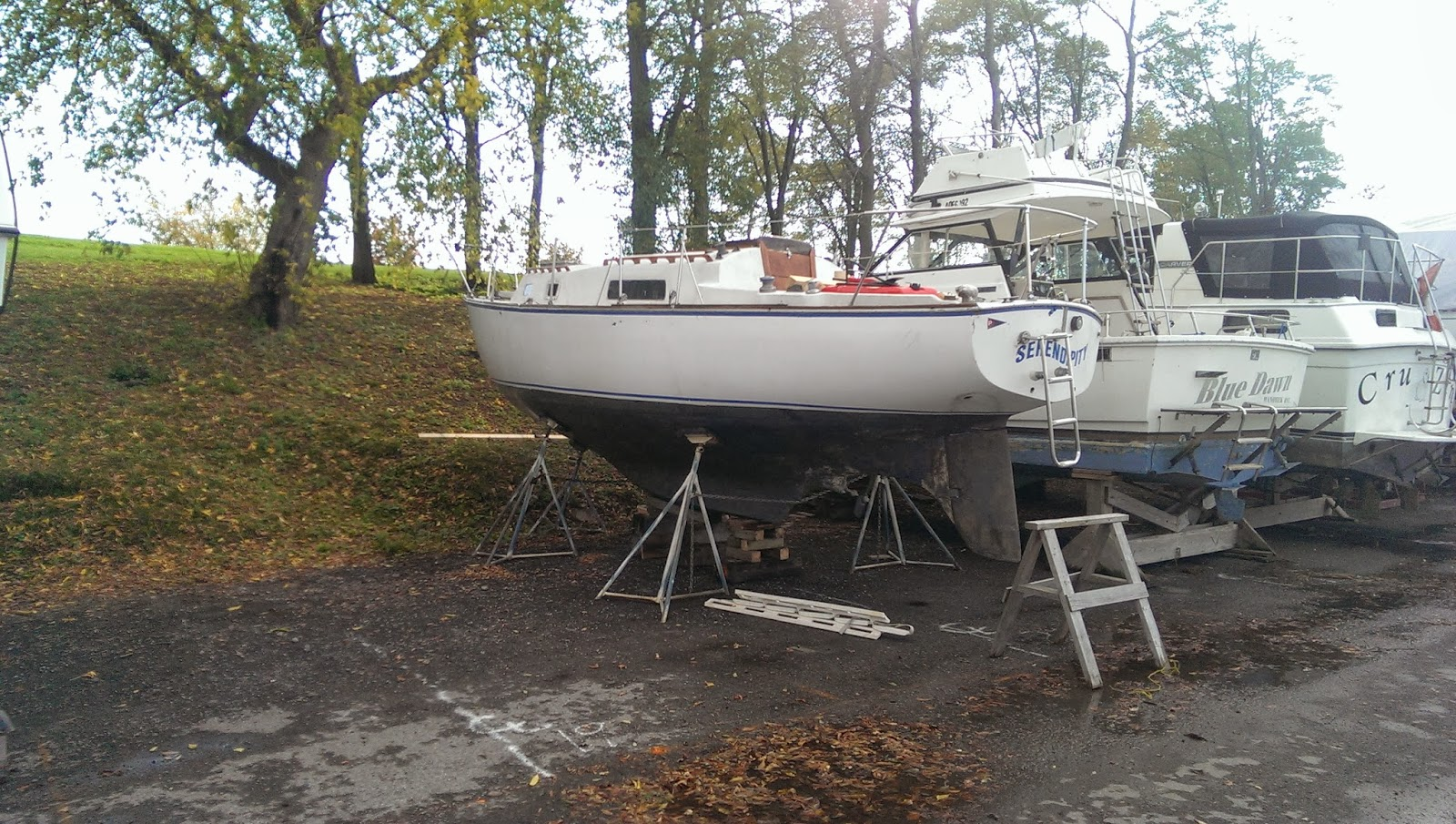 Serendipity Irwin 28 Boat Build