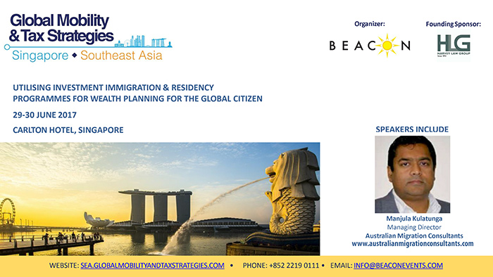 AMC   Utilising Investment Immigration & Residency Programmes for Wealth Planning for The Global citizen.