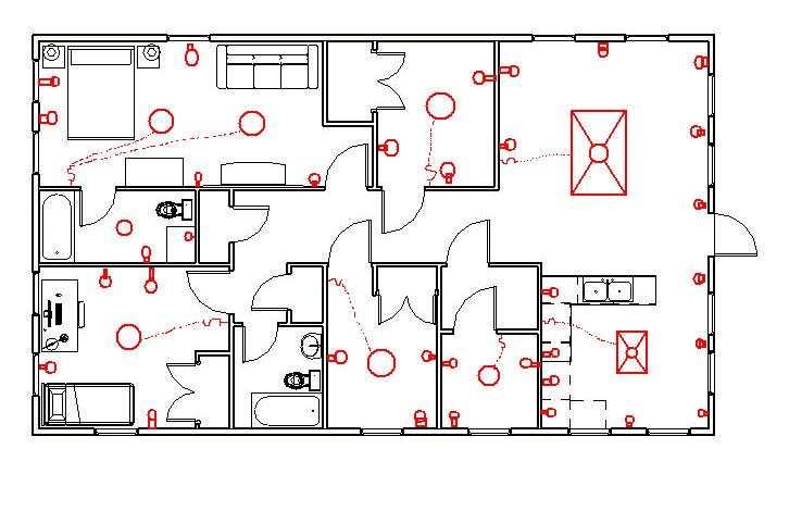 building wiring diagram symbols - home wiring and electrical diagram, Wiring diagram