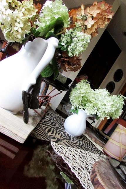 Zebra Tablescape