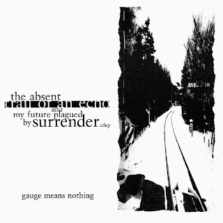 Gauge Means Nothing -The Absent Trail of an Echo and My Future Plagued by Surrender CD EP