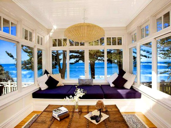 Interior design rumah tepi pantai