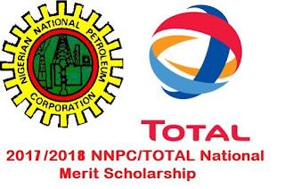 nnpc/total 2017/2018 scholarship