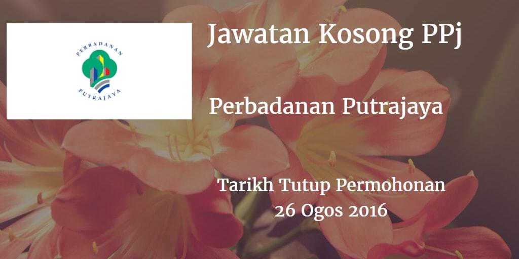 Jawatan Kosong PPj 26 Ogos 2016