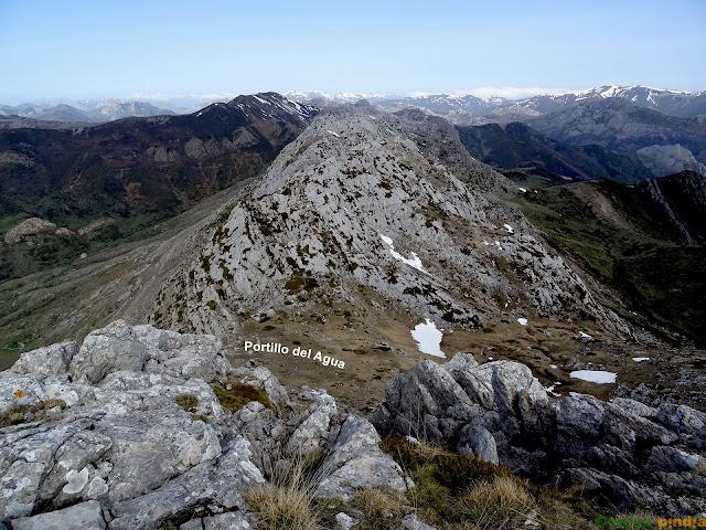 Vistas desde la cima de Peña Valdorria