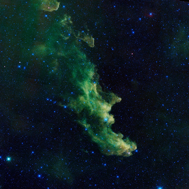 Witch Head Nebula in Infrared
