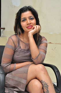 Actress Loukya  Stills at 7 to 4 Movie Audio Launch  0017.jpg
