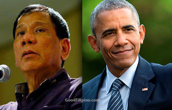 President Duterte slams Obama over issues of human rights and drug problem