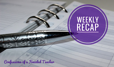 Confessions of a Frazzled Teacher: Check out this Frazzled Teacher's week, in which she highlights the good and bad, so you can feel better about yourself! Along the way, she shares teaching tips.