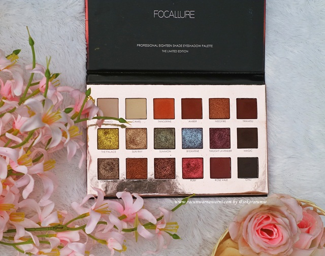 Warna Pallete Focallure