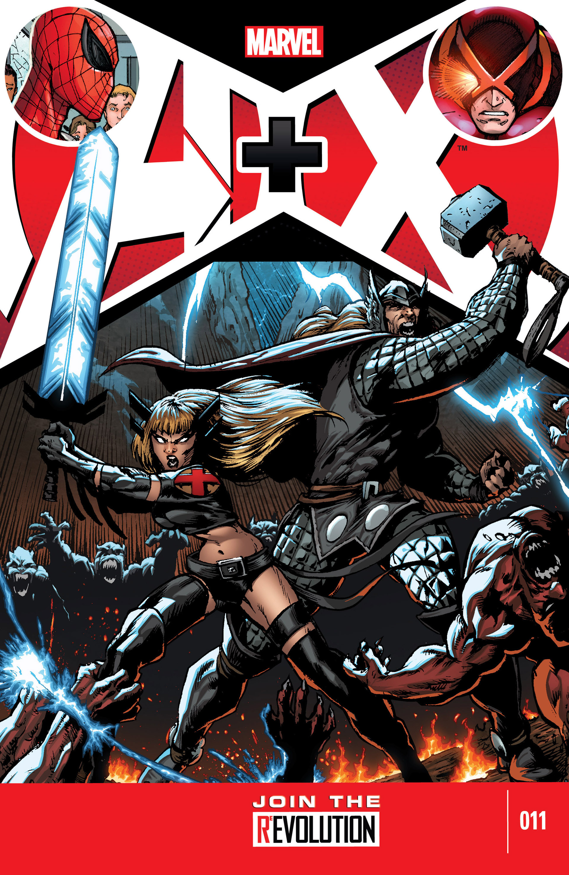 Read online A X comic -  Issue #11 - 1