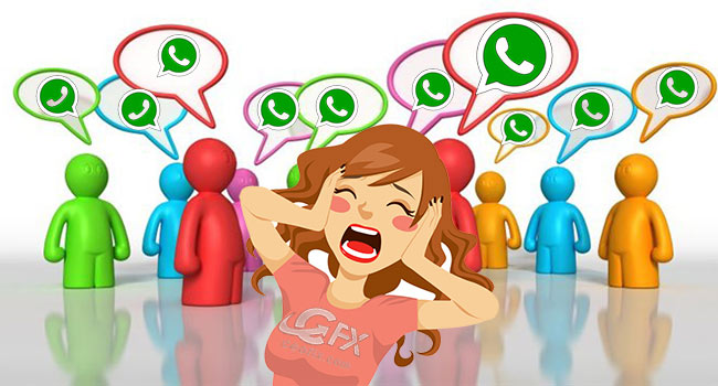 WhatsApp Grup Yada Özel Sohbeti Sessize Al-Gruptan Çık-Sil
