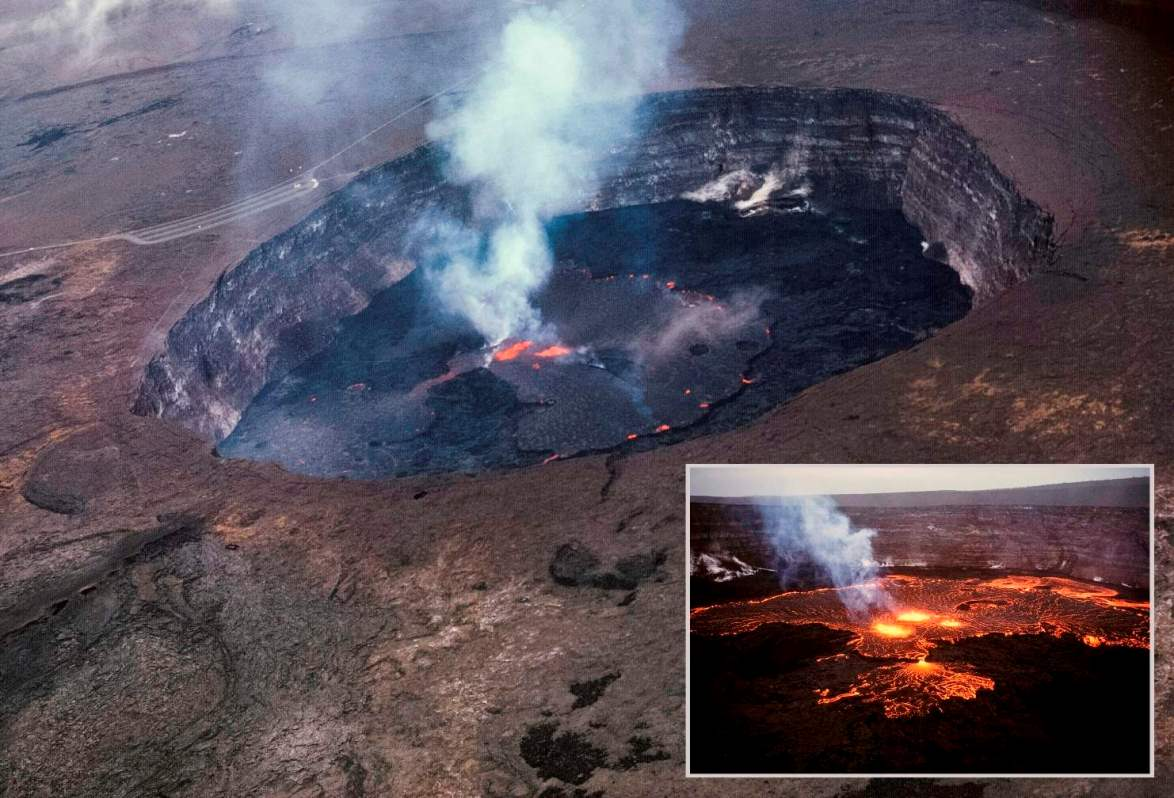 7 most amazing volcanic craters