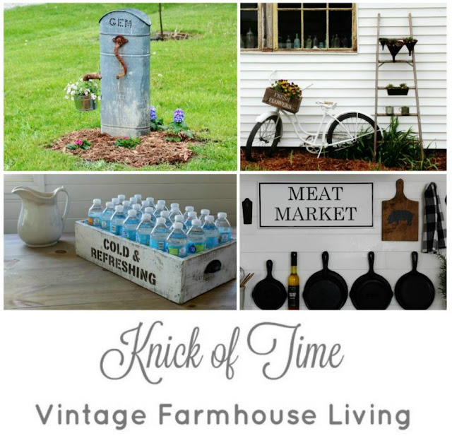 Knick of Time Vintage farmhouse home decor, gardening, and DIY projects | www.knickoftime.net