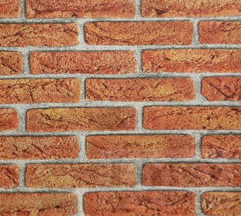 Brick Driveway Image: Brick Effect Wallpaper