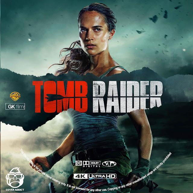 Tomb Raider 4k Bluray Label