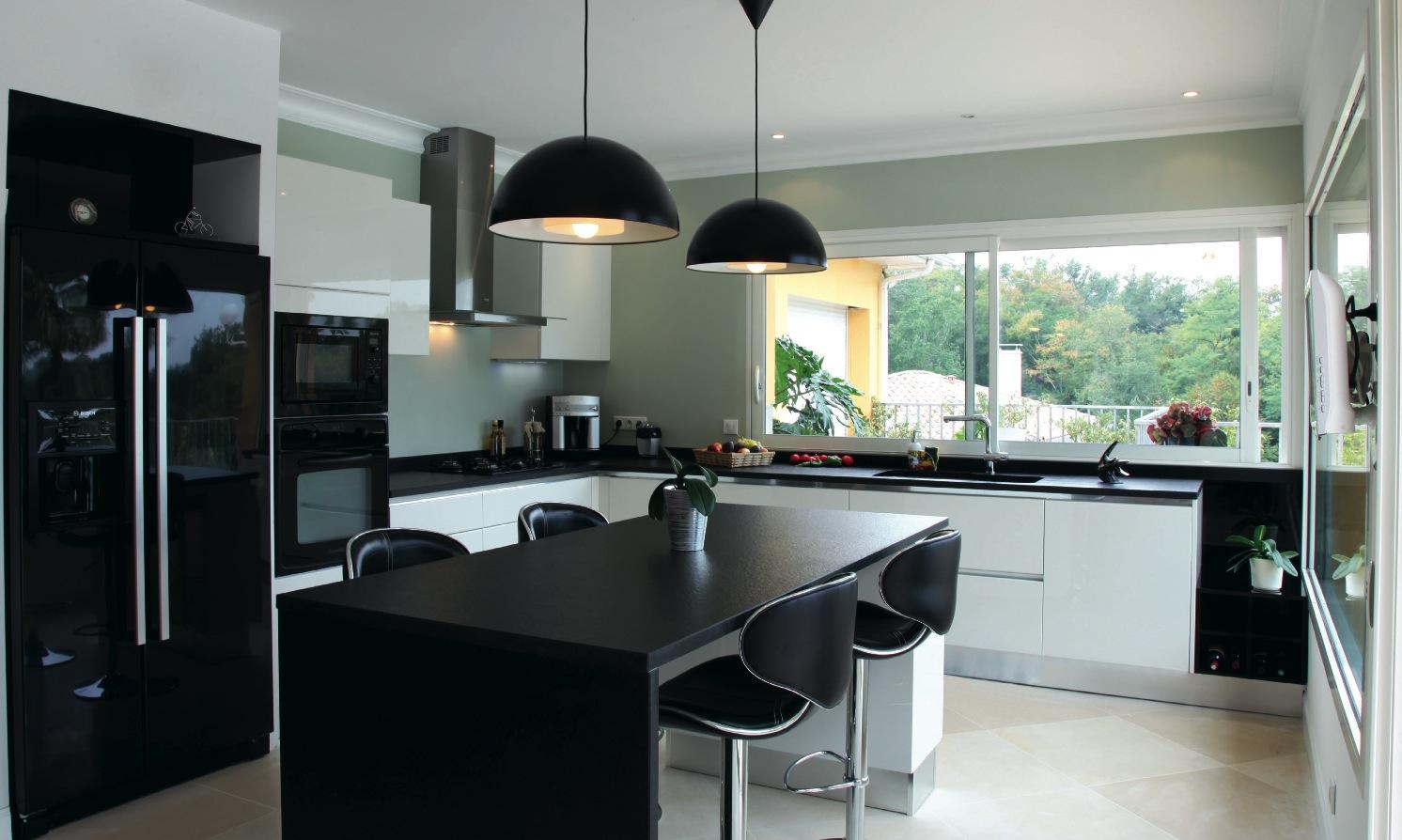 Meuble cuisine italienne fonds d 39 cran hd Cuisine design italienne