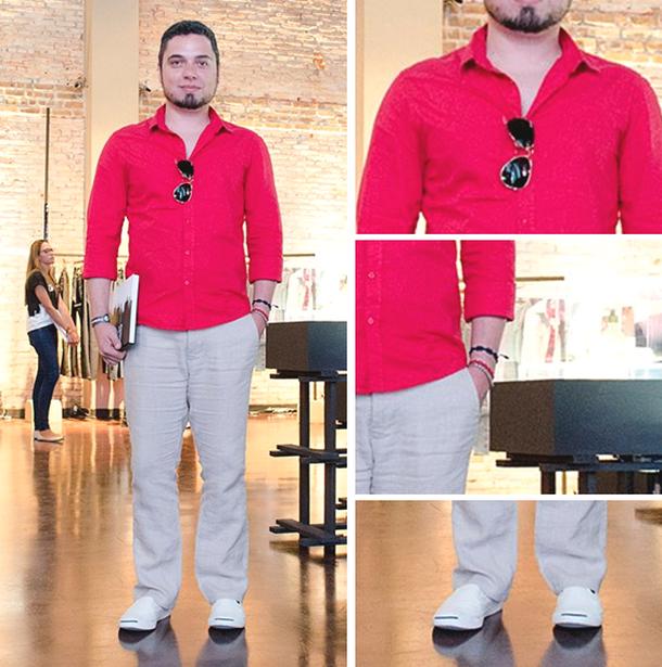 Look usado no Preview de Outono   Inverno 2014 da Renner. Camisa Fórum e146426f11644