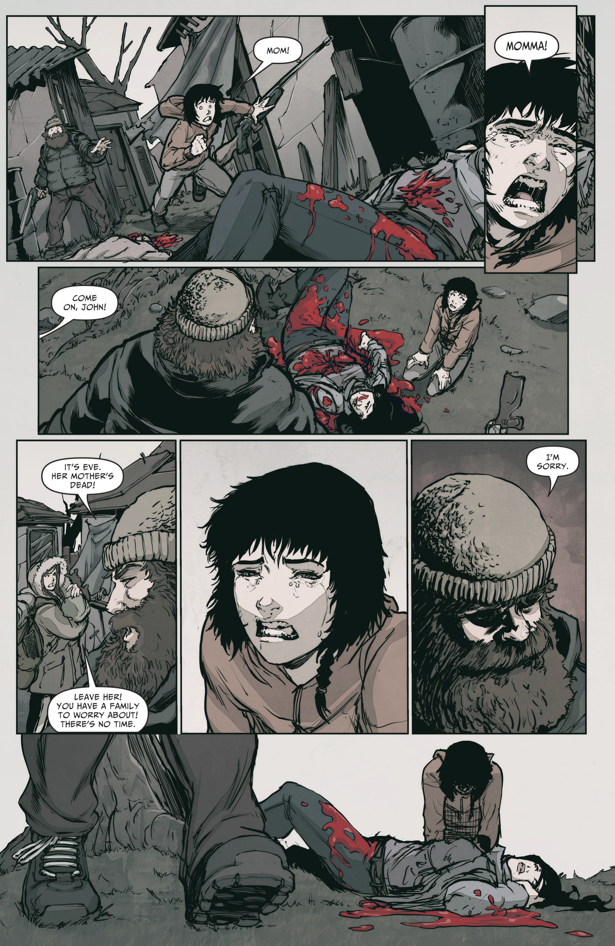 Read online The Courier: From the Ashes comic -  Issue #3 - 6