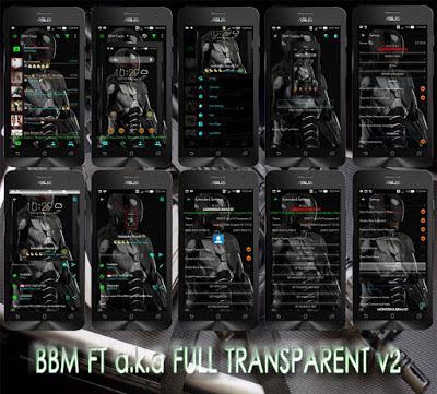 BBM MOD Full Transparent v2.11.0.16 Apk